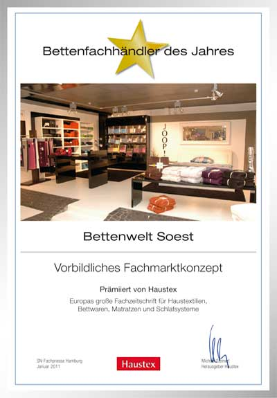 Bettenwelt Soest GmbH & Co KG