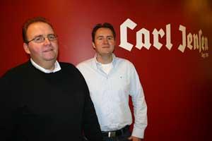 Die Brüder Jörg (links) und Sven Meyer führen die Geschäfte beim Hamburger Meisterbetrieb.