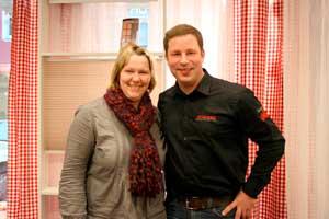 Rolf und Nadine Schrempp.