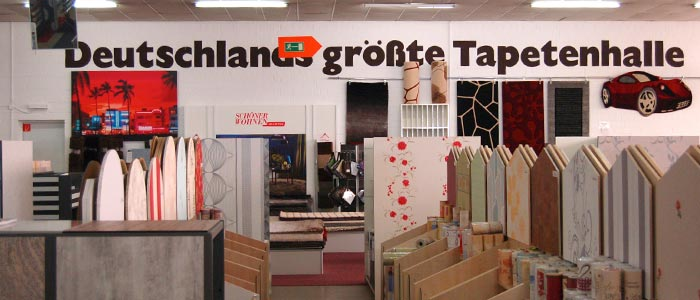 Tapetenhalle Eickelbaum, Oberhausen