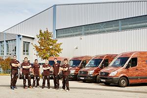 Motivierte und gut ausgebildete Mitarbeiter sind die Basis für den Erfolg der Abteilung Fußboden bei Böhmler im Tal.