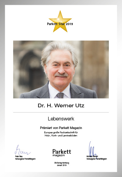 Dr. H. Werner Utz, Uzin Utz AG