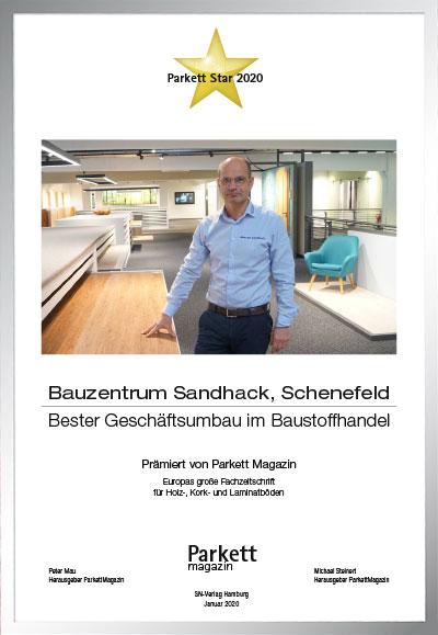 Bauzentrum Sandhack GmbH