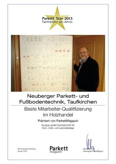 Neuberger Parkett- und Fußbodentechnik GmbH
