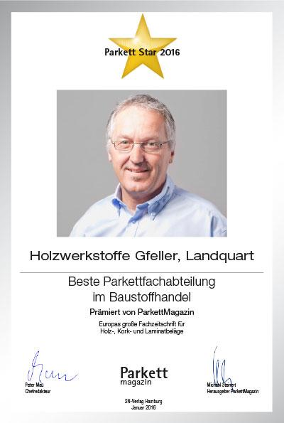 Holzwerkstoffe Gfeller AG