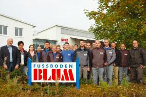 Fussboden Blum, Kalbach